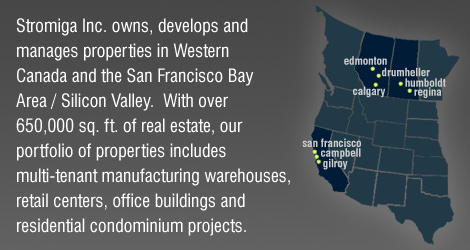 Stromiga Real Estate Development in Western Canada, SF Bay Area, Silicon Valley